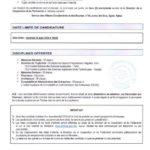 مطبوع منح للدراسة بالجامعات التونسية